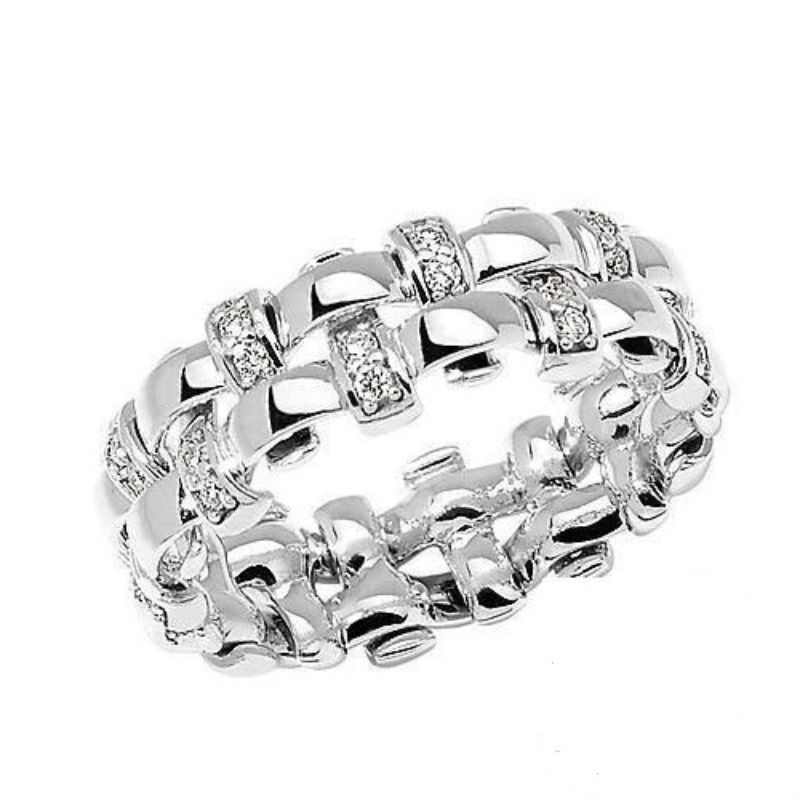 ring-woman-comete-jewels-collection-weaves-anb-1963-white-gold-diamonds