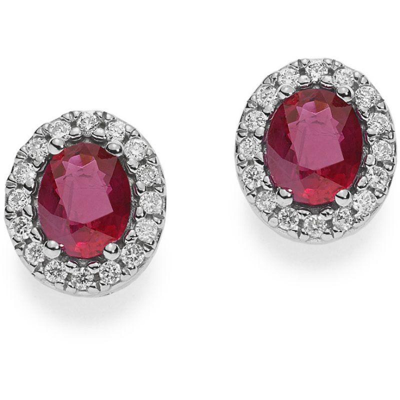 orecchini-a-lobo-donna-comete-orb-739-oro-bianco-rubini-contorno-diamanti